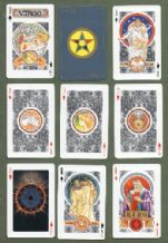 Collectible Fortune telling playing cards Horoscope by Angel